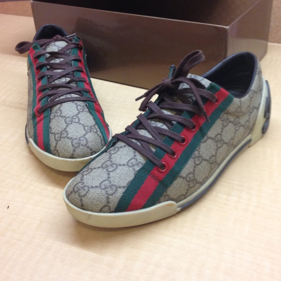 d70c1c1d08e Gucci Shoes - •MAKE OFFER• RARE  580 RETAIL GUCCI MONOGRAM SHOES